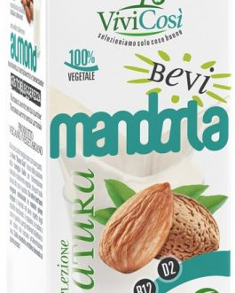 Bebida Vegetal de Almendras Fortificada Vivicosi