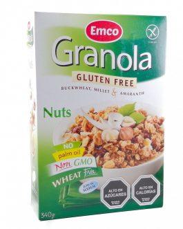 Granola con Frutos secos y miel, EMCO