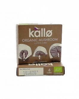 Cubos de caldo de hongos, Kallo