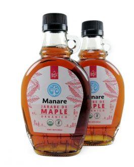 Jarabe de Maple, Manare