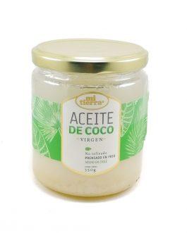 Aceite de coco, 350g,Mi tierra