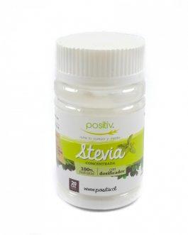 Stevia concentrada, positiv