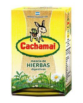Infusion de hierbas digestivas, Cachamai